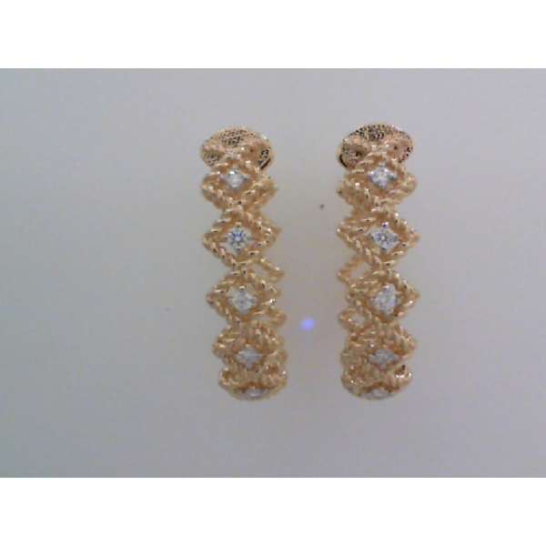 Diamond Earrings by Roberto Coin