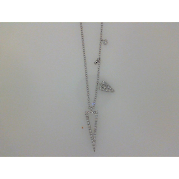 Diamond Necklace/Pendant by Meira T.