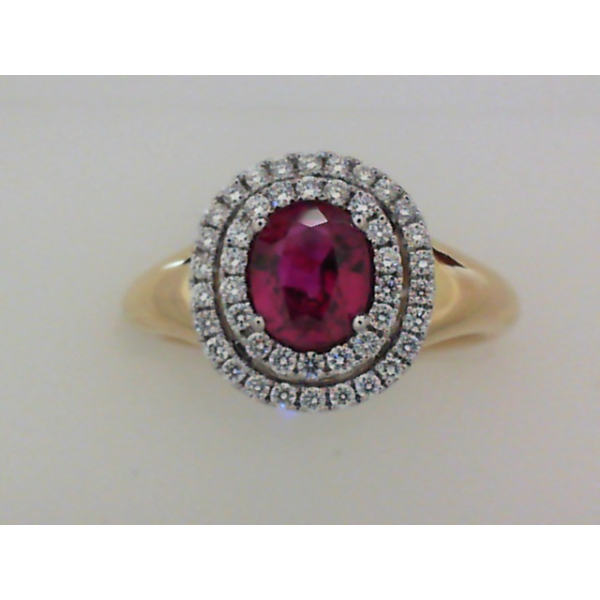 Colored Stone Ring by Spark Creations