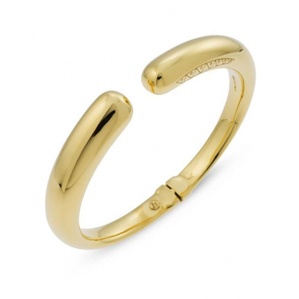 18KY Nobile Hinged Cuff Bracelet by Ugo Cala